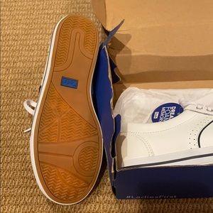 Keds Shoes - Keds courty core leather white nwt 5.5 w